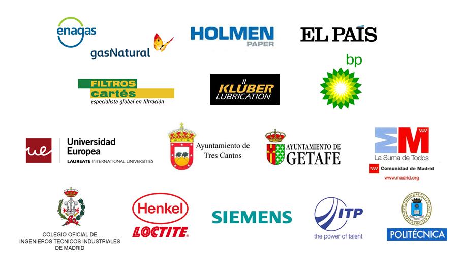 Logos de empresas que han confiado en Mantenimiento & Mentoring Industrial