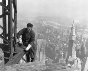Foto de trabajo en altura
