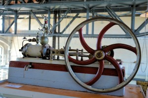 Máquina de vapor, primera revolución industrial