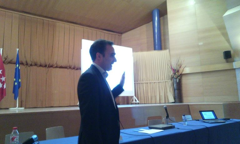 Angel Partida, ponencia del Foro I.T.I. en Tres Cantos