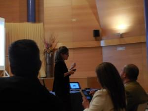 María Sánchez, Eptisa. Foro ITI