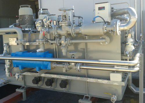 Flushing de circuito hidráulico